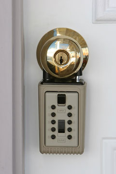 real estate lockbox